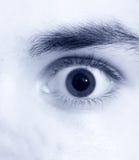 结束眼睛视图 免版税库存图片