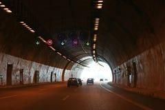 结束隧道 库存图片