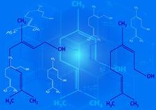 结构上化学式的精神 皇族释放例证