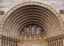 结构上的曲拱 库存照片