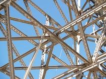 结构上的钢 图库摄影