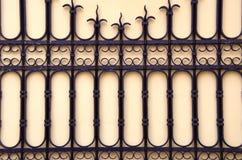 结构上背景装饰门金属 库存图片