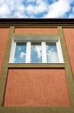 结构上详细资料。 在大厦的视窗。 图库摄影
