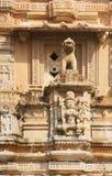 结构上详细资料印度 免版税库存照片