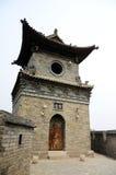 结构中国人典型的城楼 免版税库存照片