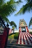结构亚洲印第安新加坡寺庙 免版税库存照片