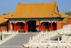 结构传统瓷的房子 免版税库存照片