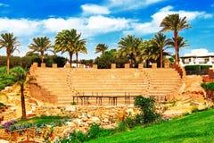 结构传统的埃及 免版税库存照片