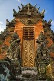 结构传统的巴厘岛 免版税图库摄影