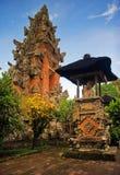 结构传统的巴厘岛 库存照片