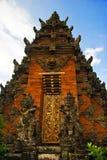 结构传统的巴厘岛 图库摄影