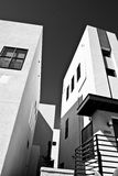 结构住宅的加利福尼亚 免版税库存图片