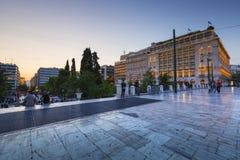 结构体正方形,雅典 免版税库存照片