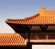结构佛教寺庙 库存图片