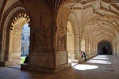 结构修道院 库存照片