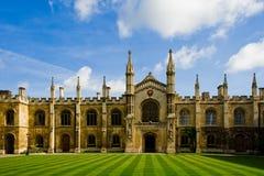 结构剑桥著名大学 免版税库存照片