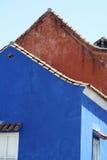 结构卡塔赫钠哥伦比亚de indias 免版税库存图片