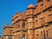 结构印地安人乔德普尔城 免版税库存照片