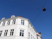 结构哥本哈根丹麦 库存图片