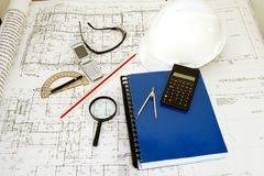 结构图画设计 免版税图库摄影