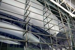 结构在机场 免版税库存图片