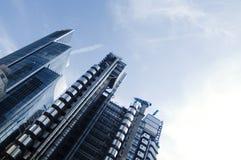 结构城市现代的伦敦 免版税图库摄影