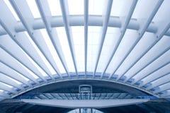 结构大厦现代的商务中心 免版税库存照片
