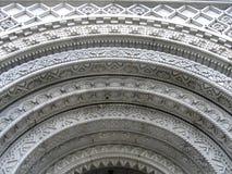结构大厦详细资料 免版税图库摄影
