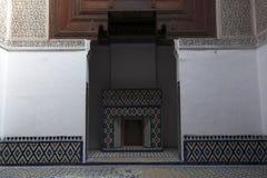 结构室内摩洛哥人 免版税库存照片