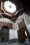 结构室内摩洛哥人 库存图片