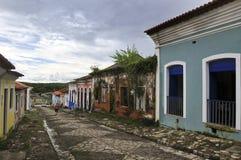 结构巴西殖民地居民 免版税库存照片