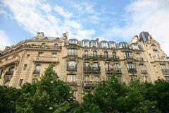 结构巴黎 图库摄影