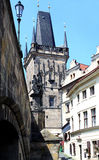 结构布拉格 库存照片