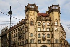结构彼得斯堡s 免版税库存图片