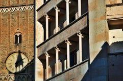 结构意大利语 免版税图库摄影