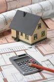 结构房子设计 免版税图库摄影