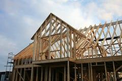 结构房子 免版税库存照片