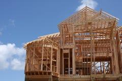 结构房子 免版税库存图片