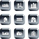 结构按钮 免版税库存图片