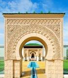 结构摩洛哥人 免版税库存图片