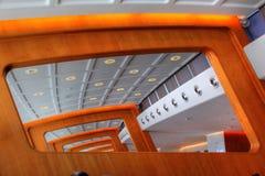 结构放光现代 免版税图库摄影
