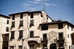 结构有历史的托斯卡纳 免版税库存照片