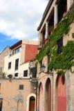 结构有历史的西班牙语 免版税库存照片