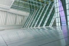 结构未来派办公室 库存照片