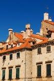 结构杜布罗夫尼克市老城镇 库存照片