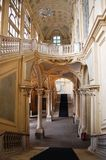 结构极大的楼梯 库存照片