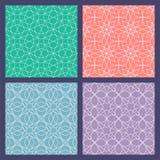 结构查找了主要几何伊斯兰清真寺回教宫殿模式 阿拉伯装饰品模板  皇族释放例证