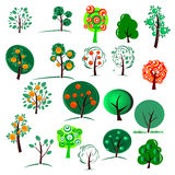 结构树二十 库存照片