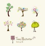 结构树艺术例证 免版税库存照片