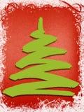 结构树xmas 免版税库存图片